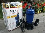 Насос погружной с измельчителем для откачки грязной воды и канализации.